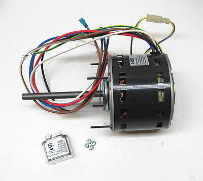 Furnace Air Handler Blower Motor 13 Hp 1075 Rpm 115 Volt 3 Speed For Fasco D727