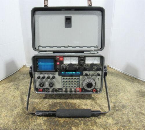 IFR FM/AM-1200S Communications Service Monitor & Spectrum Analyzer 250kHz - 1GHz