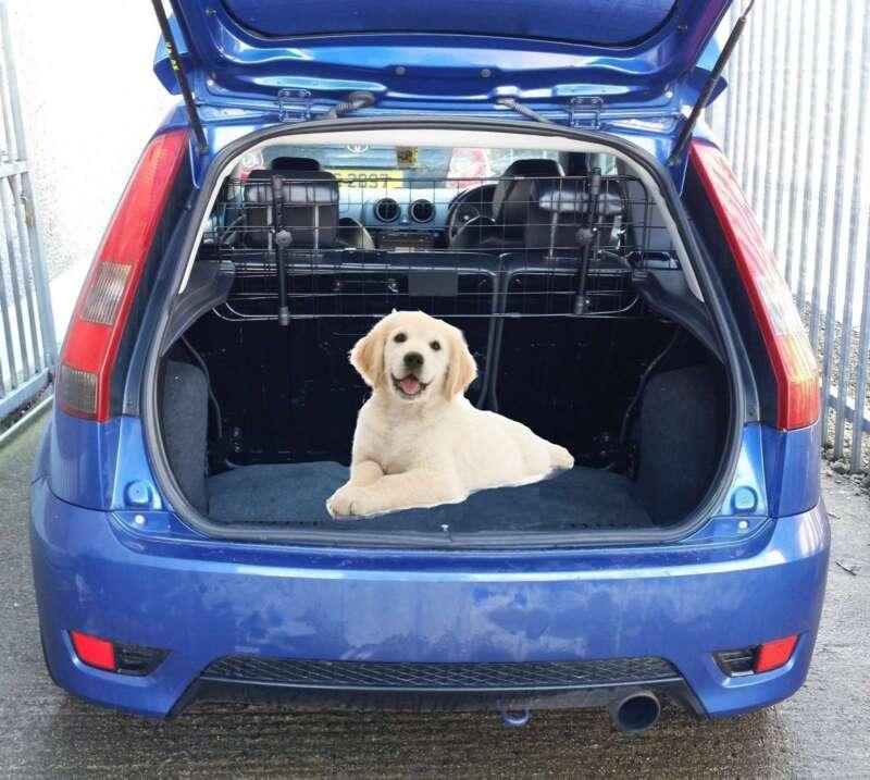 UNIVERSAL ADJUSTABLE SAFETY MESH HEADREST DOG GUARD CAR MPV JEEP ESTATE