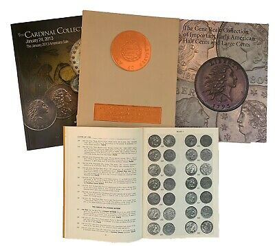 Four Catalogue Of Large Cents - Cardinal, Ruby, Reale, Kissner - $22.50