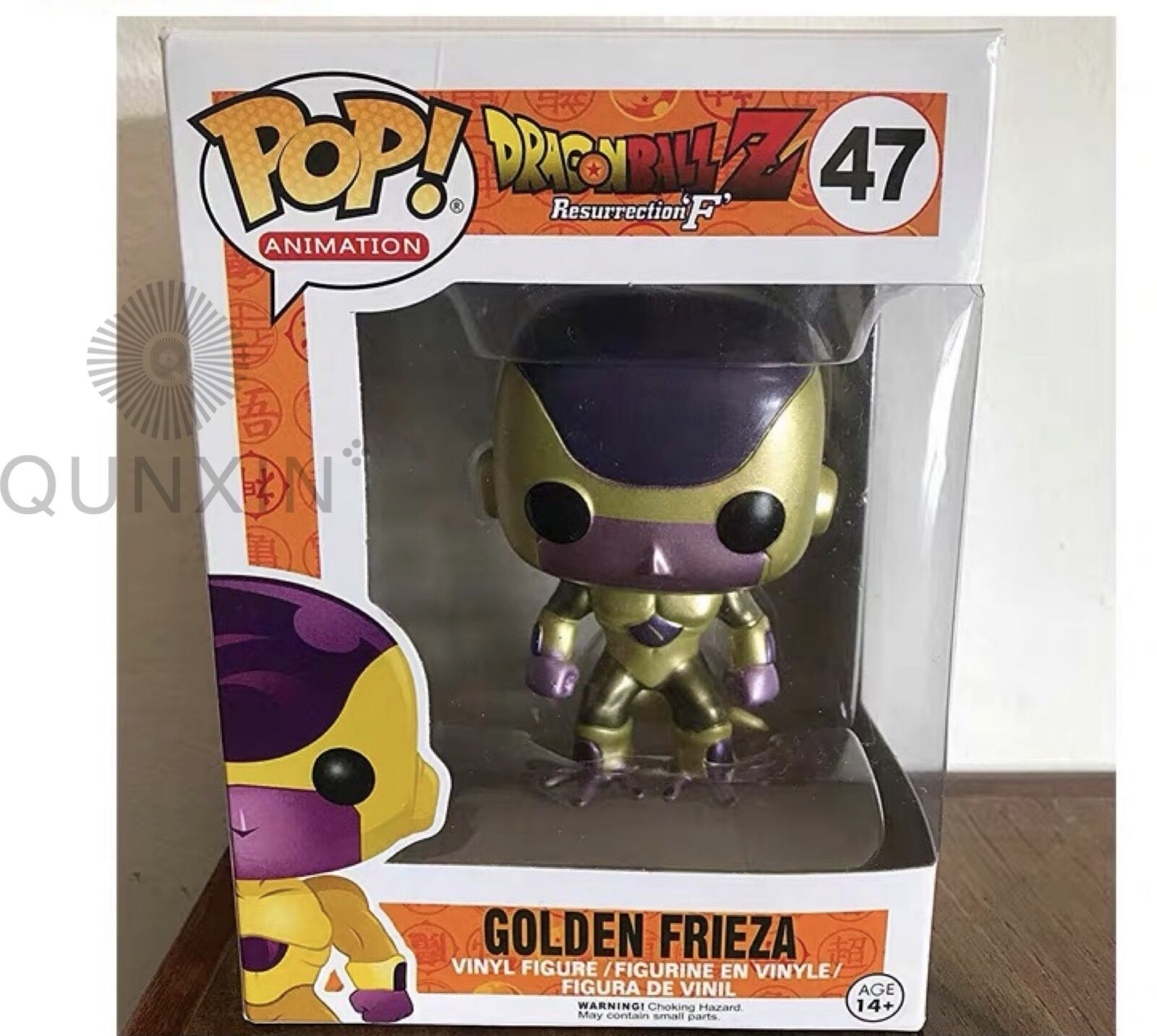 """Funko Pop!Dragon Ball Z Golden Frieza #47 SDCC 2015 Exclusive。""""MINT"""" +Protector"""