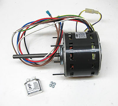 Furnace Air Handler Blower Motor 13 Hp 1075 Rpm 115 Volt 3 Speed For Fasco D727