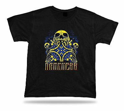 Tshirt Tee Shirt Birthday Gift Idea Darkness Skull Emblam Vines Evil Death Cross