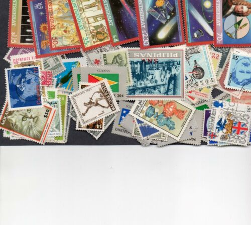50 Different Worldwide Stamps With No Common $1.00 (See Details)