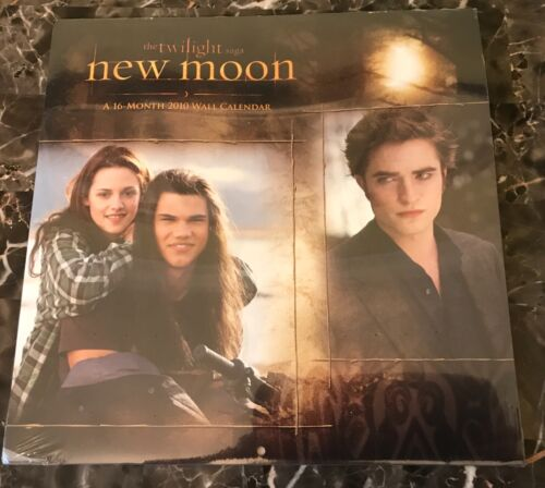 New Moon 16-Month Wall Calendar Twilight Series JACOB IS HOTTER!