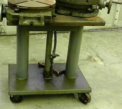 Die Cart Lift Table Hydraulic Foot Pump 20 X 30 Wvs