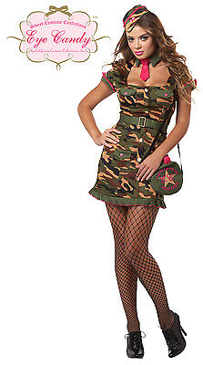 Private First Class Sexy Army Military Adult - Army Women Costume
