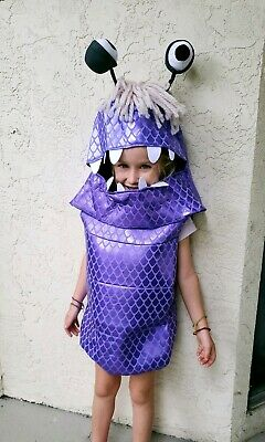 Halloween Costumes Boo From Monsters Inc (Boo Monsters Inc 2 pc Disquise Halloween Costume Children's Size Large 4-)