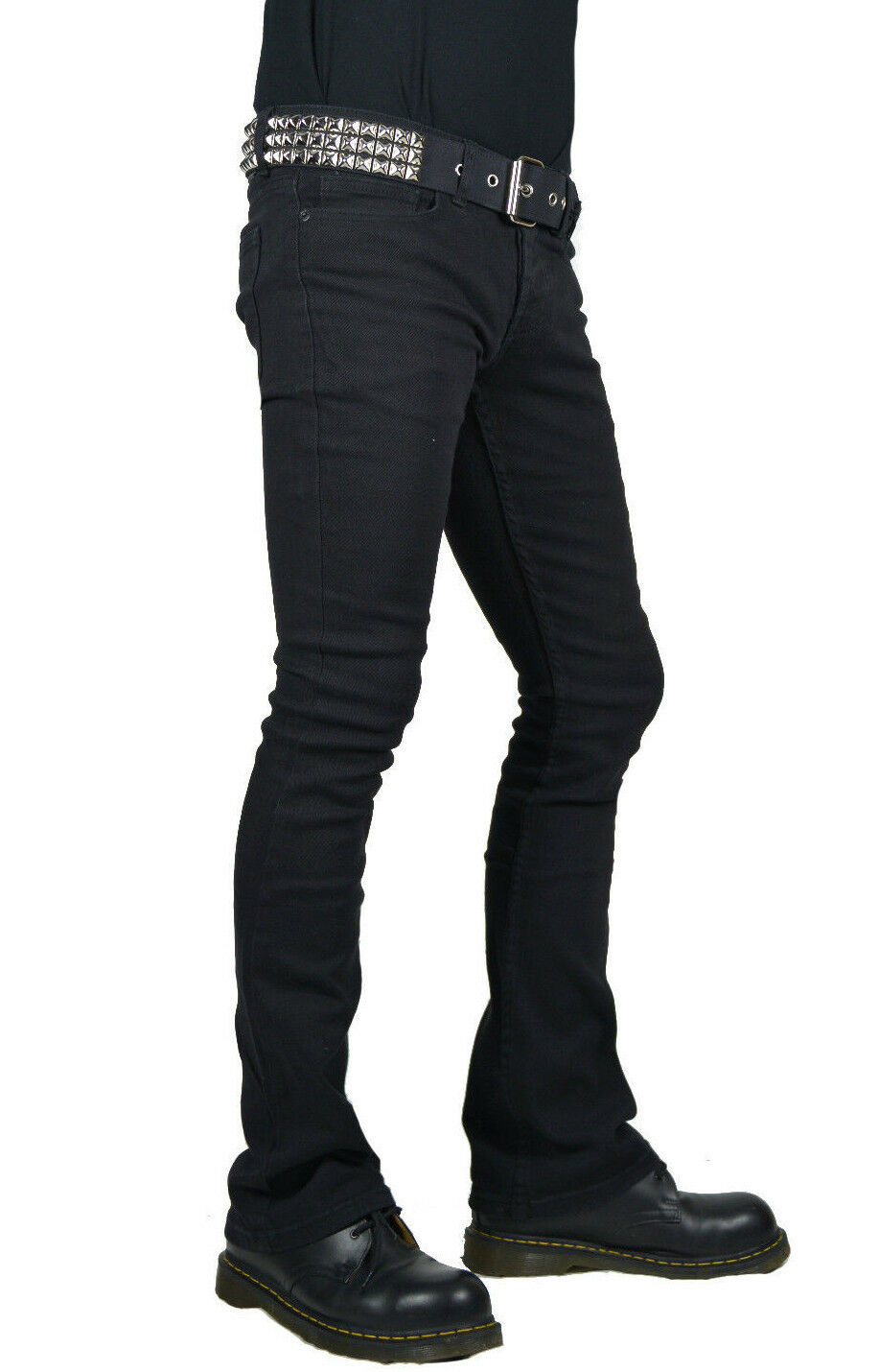 KILL CITY BOOT CUT ROCKER FIT FLARE RIFF GOTHIC PUNK STAGE JEANS PANTS BIKER Clothing, Shoes & Accessories