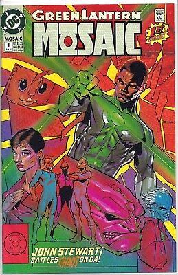 Green Lantern Mosaic #1 WITH VINTAGE PROMO Glow in the Dark RING! John
