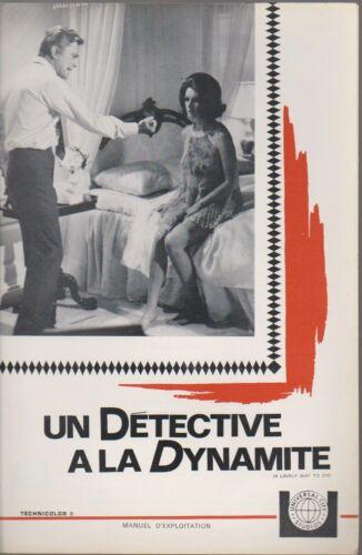 Kirk DOUGLAS Sylvia KOSCINA Eli WALLACH  french Pressbook A LOVELY WAY TO DIE