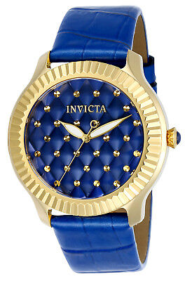 Invicta  Angel Blue Qulited Dial Ladies Watch