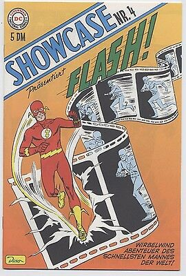 SHOWCASE # 4 - FLASH - GERMAN REPRINT / VARIANT - DINO VERLAG 2000 - TOP