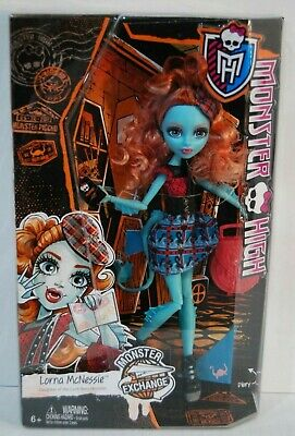 Monster High Monster Exchange Daughter of the Loch ness monster Lorna McNessie