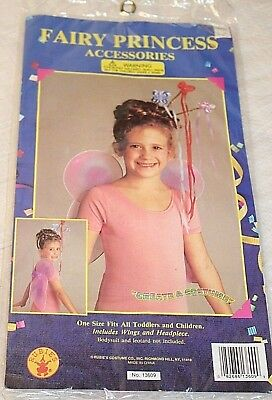 NWT Fairy Princess Accessories Fits Toddlers Fairy Wings and Headpiece - Fairy Halloween Costume Accessories