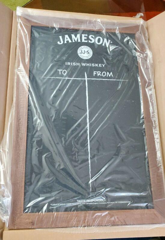 Large New Jameson Irish Whiskey Chalk Board Sign