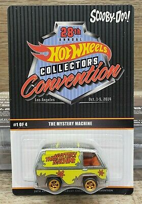 Hot Wheels 28th Collectors Convention The Mystery Machine *NIB*
