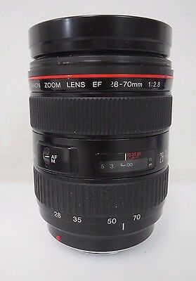 Canon Zoom Lens EF 28-70mm 1:2.8 L Ultrasonic  Caps + Filter