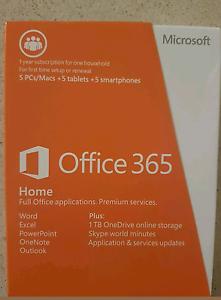 Office 365 Premium 1 Yr Subscription for 5PCs/Macs Sunnybank Hills Brisbane South West Preview