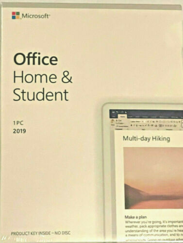 MS Microsoft Office Home and Student (2019) *PC* *RETAL*
