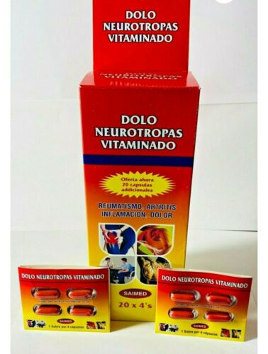 Dolo Neurotropas  100 pill 25 packs of 4, for pain inflamation