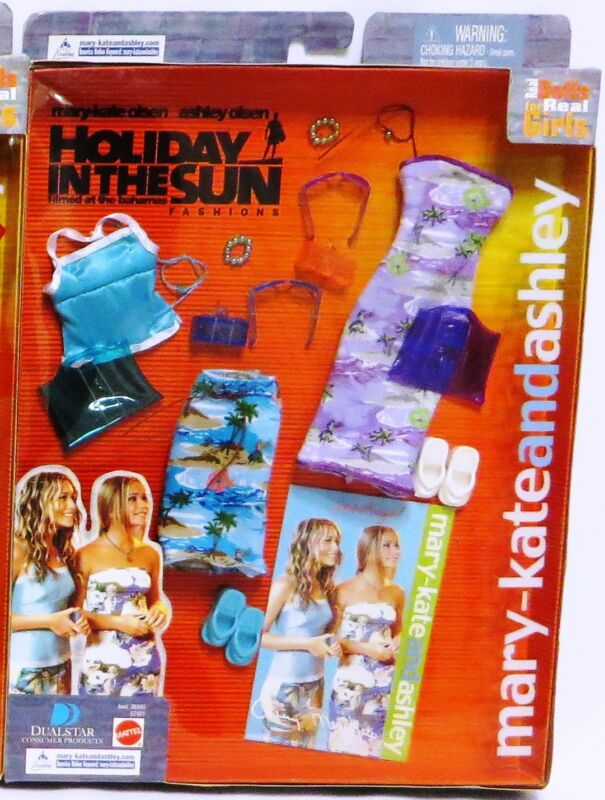 """MIB MARY KATE & ASHLEY OLSEN """"HOLIDAY IN THE SUN"""" Outfit 57421"""