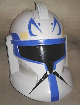 Star Wars Captain Rex Clone Storm Trooper Talking Helmet Disney Store Cosplay (Clone Trooper Cosplay)