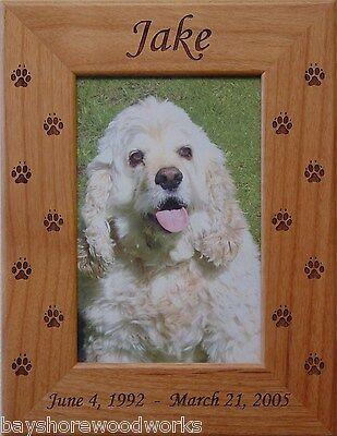Dog and Cat Photo Frame Pet Memorial