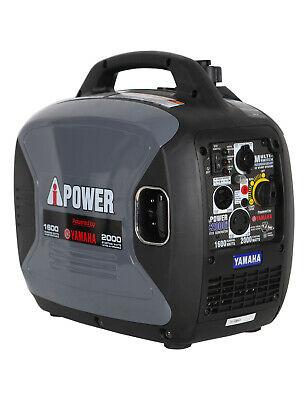 Yamaha Engine 2000 Watt Inverter Generator Gas Powered  Factory Reconditioned