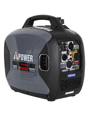 Yamaha Engine 2000 Watt Inverter Generator Gas Powered  Factory Reconditioned