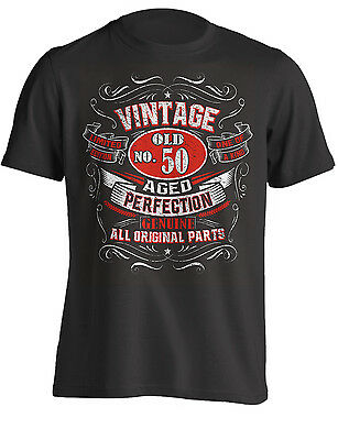 - 50th Birthday Gift Shirt Vintage No 50 Born in 1969 | T-Shirt