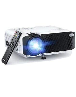 BRAND NEW APEMAN LC350 3500 Lumens Mini Portable LCD Projector P&P inc. White.