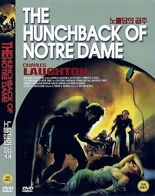 The Hunchback of Notre Dame (1939) Charles Laughton DVD NEW *FAST (The Hunchback Of Notre Dame Charles Laughton 1939)