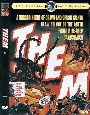 Them (1954) James Whitmore / Edmund Gwenn / Joan Weldon DVD NEW *FAST SHIPPING*