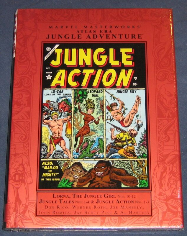 Marvel Masterworks Atlas Era Jungle Action Vol #2  Atlas Jungle Reprints