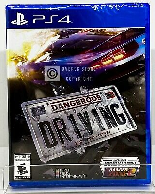 Dangerous Driving - PS4 - Brand New | Factory Sealed