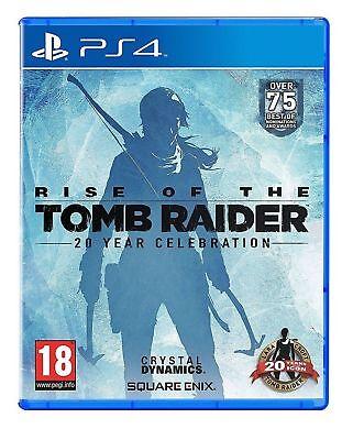 RISE OF THE TOMB RAIDER - CELEBRAZIONE 20 ANNI PS4 VIDEOGIOCO ITA PLAYSTATION 4