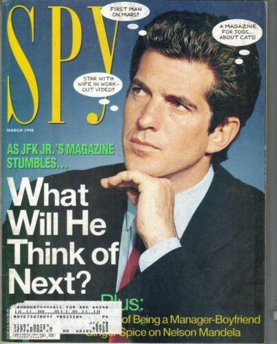 Rare Spy Magazine March 1998 JFK Jr. John F Kennedy George Magazine Founder