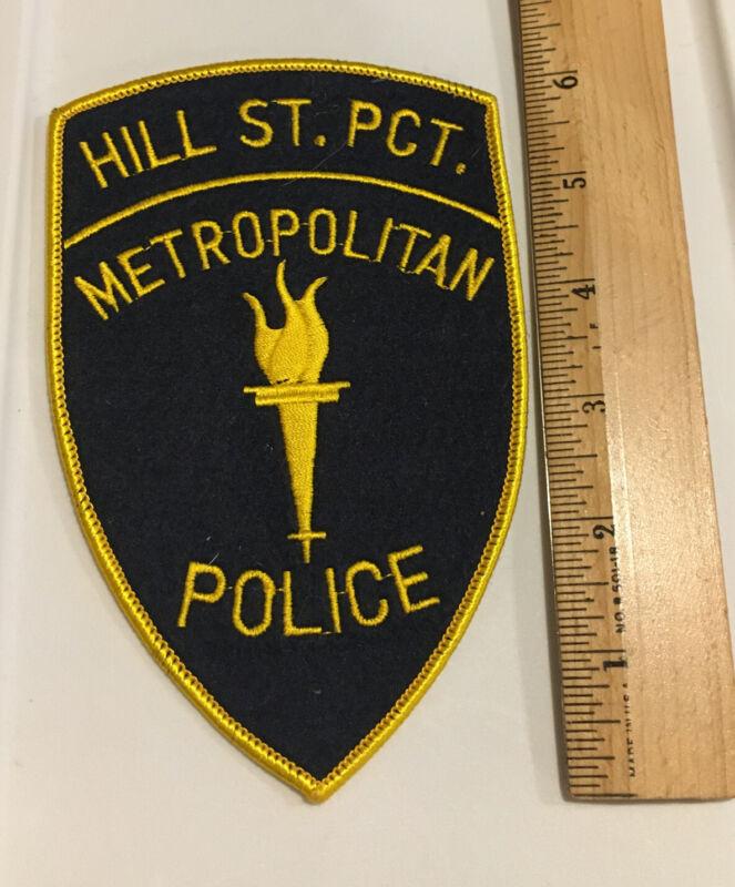 Arm Patch Hill St. Precinct Metropolitan Police