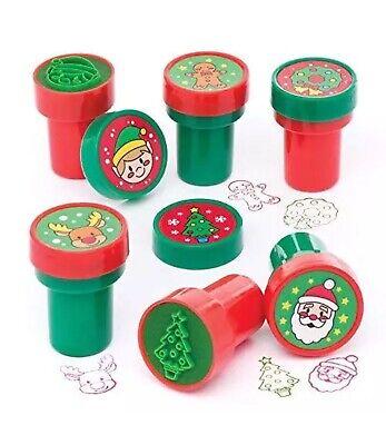 Baker Ross Christmas Self-Inking Stampers (Pack Of 10) Crafts & Art 005 (Baker Ross Halloween Crafts)