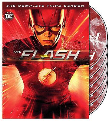 The Flash  The Complete Third Season 3 Three  Dvd  2017  6 Disc Set  New