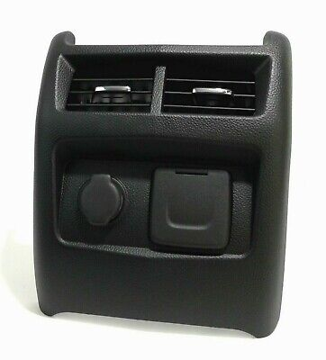 2013-2016 CADILLAC ATS CENTER CONSOLE REAR AIR VENT POWER OUTLET  OEM  - BLACK -