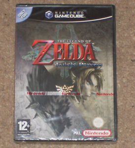 The Legend of Zelda: Twilight Princess NEW SEALED Nintendo GameCube ◄►◄►◄►◄►