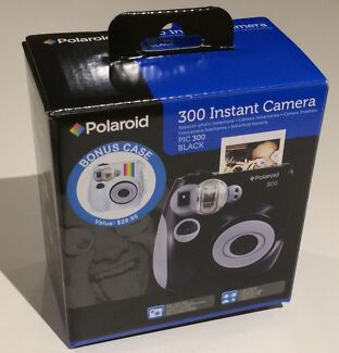 Polaroid 300 instant camera with Retro case (white) Chippendale Inner Sydney Preview