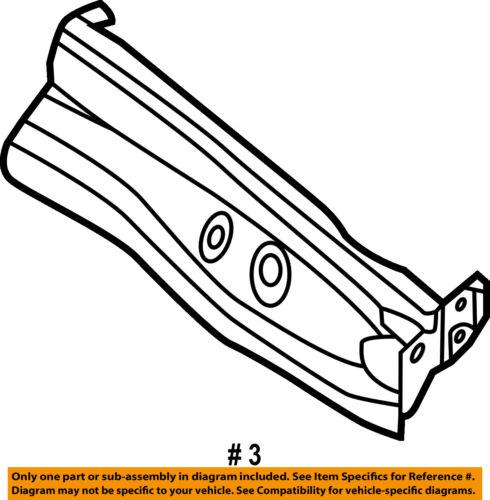Nissan Oem 13 16 Altima Fender Stay Support Bracket Right F31803tama