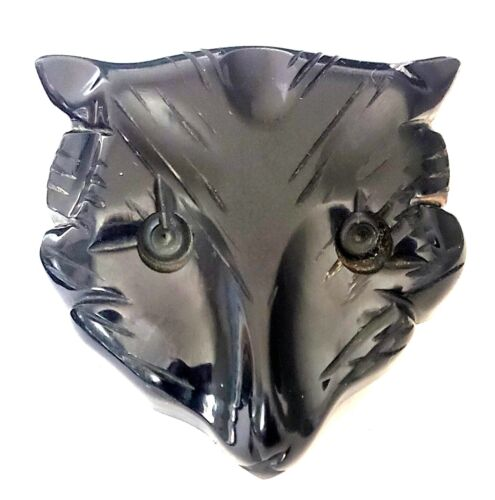 """Very Large Chunky Carved Bakelite Animal Head Button…1&5/8"""""""