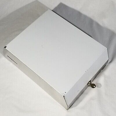 Paper Towel Dispenser Surface Mounted Stainless Steel C-fold New Old Stock