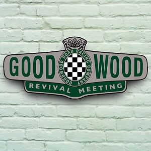 2ft goodwood revival track meeting historic classic car for Plaque garage w
