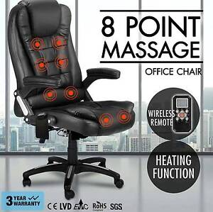 8 Point Massage Executive Office Chair Heated Recliner Brand New Sydney City Inner Sydney Preview