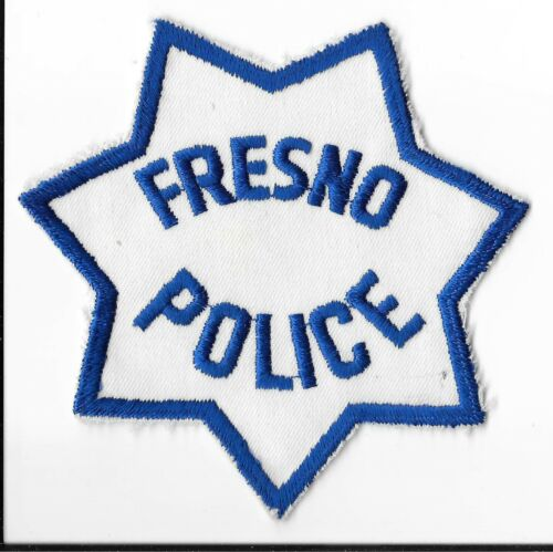 Fresno Police Department, California Shoulder Patch
